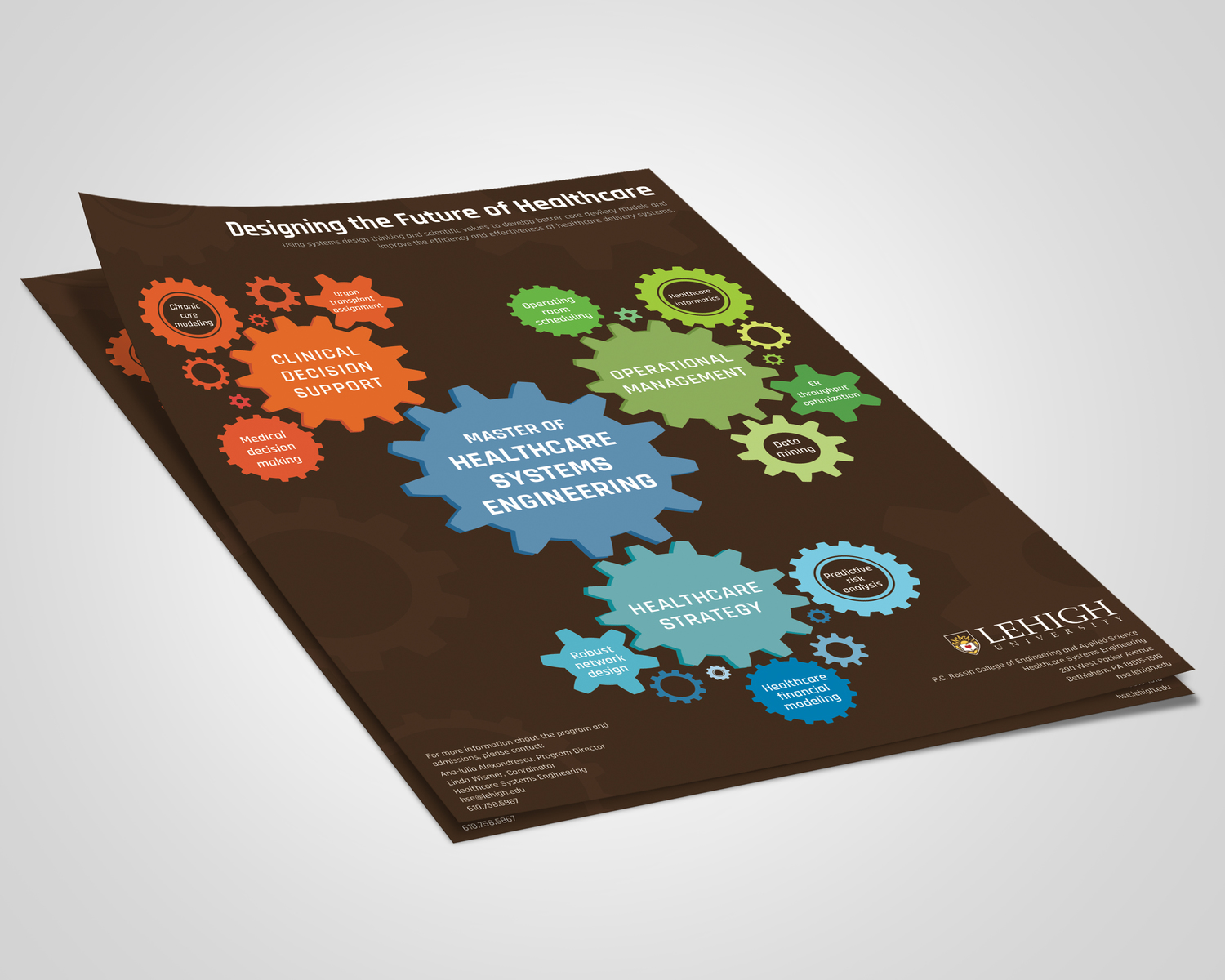 Lehigh Healthcare Systems Engineering Brochure